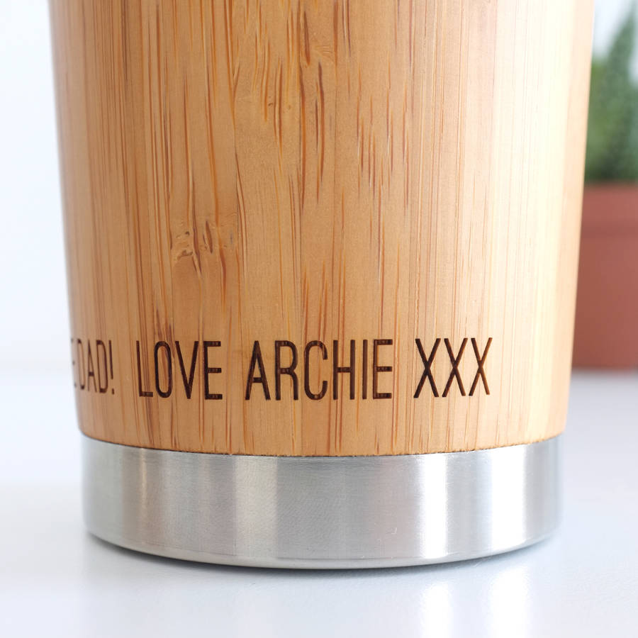 personalised coffee travel mug arts arts