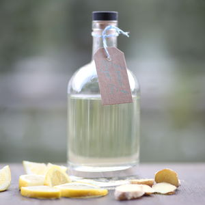 Lemon And Ginger Gin - gifts for friends