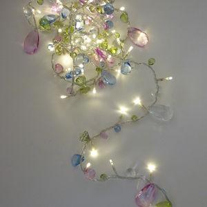 Bohemia Crystal Fairy Light Garland - lighting