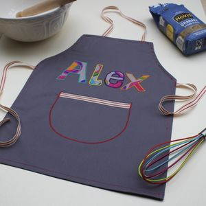 Child's And Adult's Named Aprons - aprons