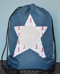 Rocket Personalised Waterproof Kit Bag