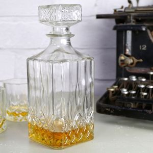 Glass Whisky Decanter