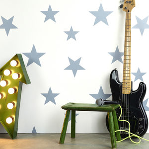 Stars Wallpaper - baby's room