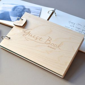 Personalised Occasions Guest Book