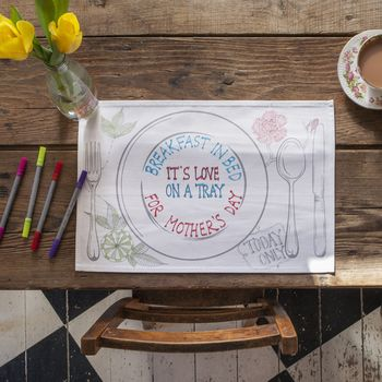The Doodle Placemat Set Of Four