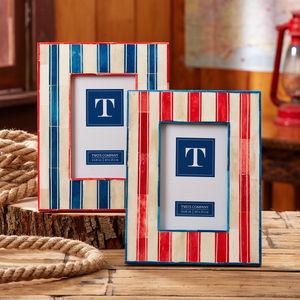 Breton Stripes Photo Frame - picture frames