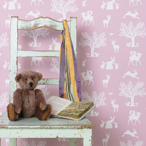 Enchanted Wood Wallpaper - home decorating