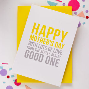 'Happy Mother's Day' Funny Mother's Day Card - funny cards