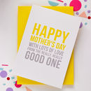 'Happy Mother's Day' Card