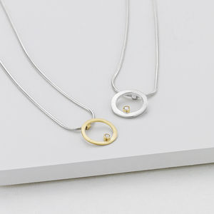 Delicate Diamond Pendant - necklaces & pendants