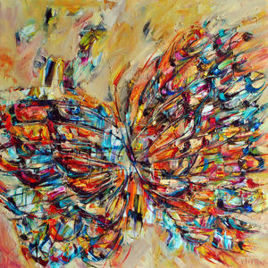 Wingspan Butterfly Print - modern & abstract