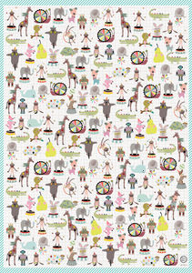 Pets Wrapping Paper Two Sheets - ribbon & wrap