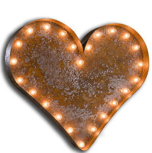 Vintage Heart Light - lighting