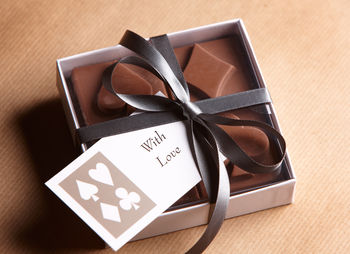Boxed chocolates, with love