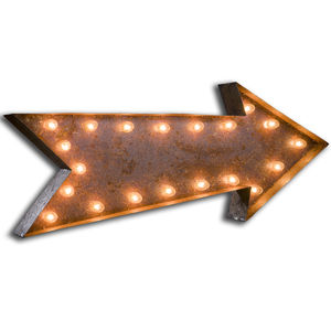Vintage Arrow Light - shop by price