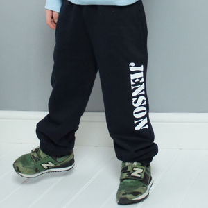 Personalised Child's Tracksuit Bottoms - trousers & leggings