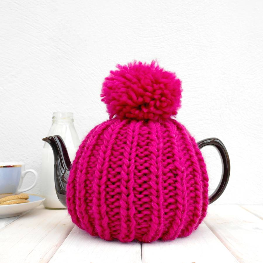 Knitting Pattern For Yoda Tea Cosy : six cup retro hand knit tea cosy by chi chi moi ...