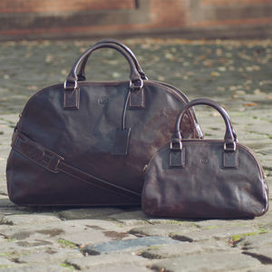 The Ultimate Ladies Leather Luggage Bag.'The Liliana L'