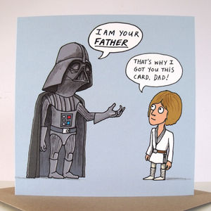 'I Am Your Father' Card - cards & wrap sale