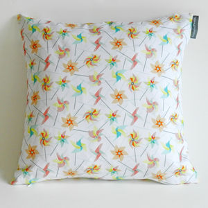 Limited Edition Windmills Cushion Cover - bedroom
