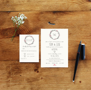 Wedding Invites And RSVP - invitations