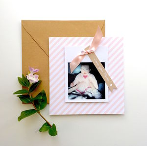 Personalised Photograph Mother's Day Card