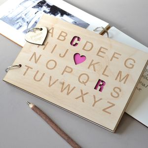 Alphabet Love Guest Book