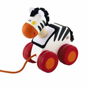 Pull Along Animal Toy - traditional wooden toys