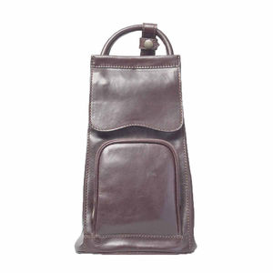 Italian Leather Backpack Handbag. 'The Carli' - backpacks
