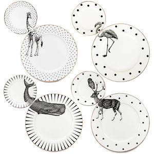 Animal Plate Set - crockery & chinaware