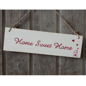 Home Sweet Home Sign - ornaments