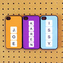 Thumb personalised scrabble iphone iphod case