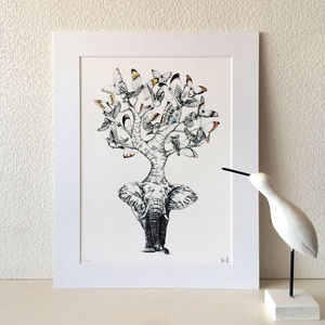 Elephant Trunk Print - brand new sellers