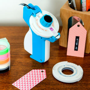 Deluxe Retro 80s Style Embossing Label Maker - wedding stationery