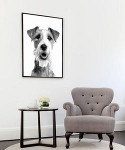 Shaggy Dog, Ready To Hang Art - animals & wildlife