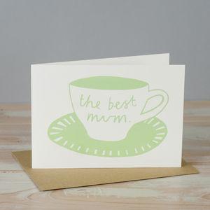 'Best Mum' Card - shop by category
