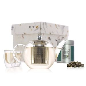 Xian Loose Leaf Blown Glass Tea Gift Set
