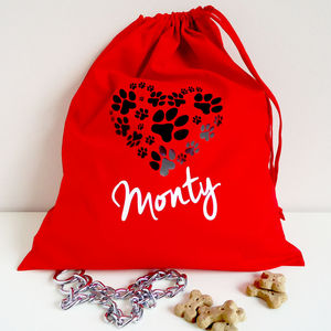 Personalised Pet Bag - treats & food