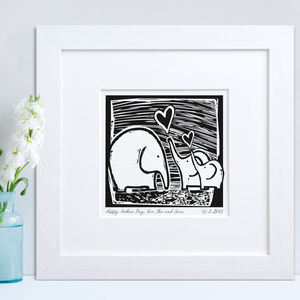 Personalised Elephant Print - prints & art
