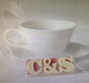 Personalised Chocolate Favours, Pack Of 10 - wedding favours