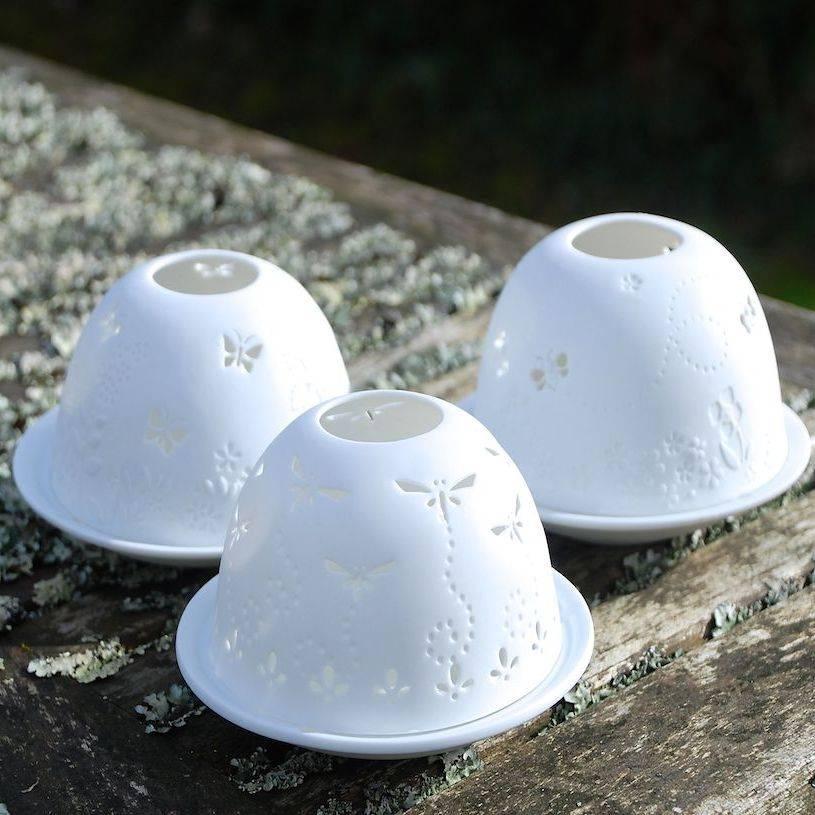 Sculpted Porcelain Tea Light Holders By Penelopetom Direct