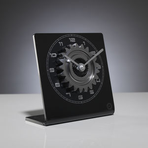 Formula One 'Raced' Gear Ratio Clock - gifts for the home
