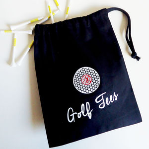 Personalised Golf Tee Bag - sport