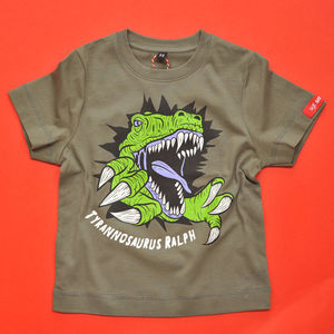 Kids Personalised T Rex T Shirt - clothing