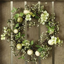 Floral Easter Wreath And Garland