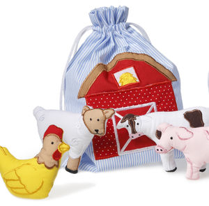 Farmyard Fun Finger Puppets - toys & games