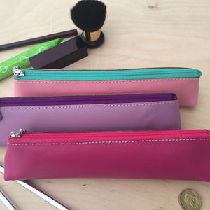 Undercover Leather Pencil Case