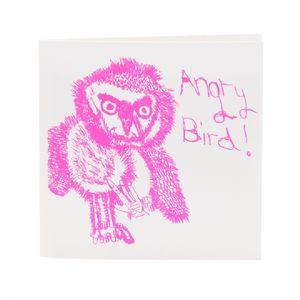 Angry Bird Card