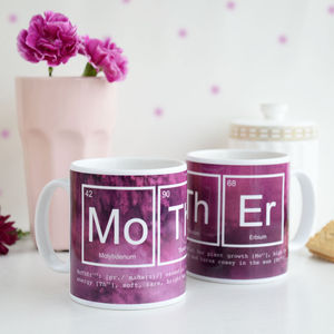 Elements Of A Mother Mug - shop by recipient