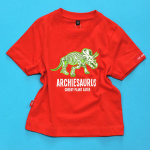 Personalised Triceratops Dinosaur T Shirt - clothing